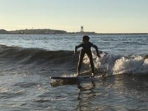 Surf en La Coruña