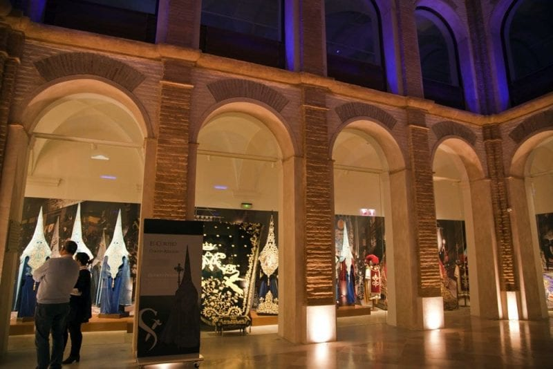 El museo del paso blanco se ubica en un edificio declarado Monumento Histórico Nacional