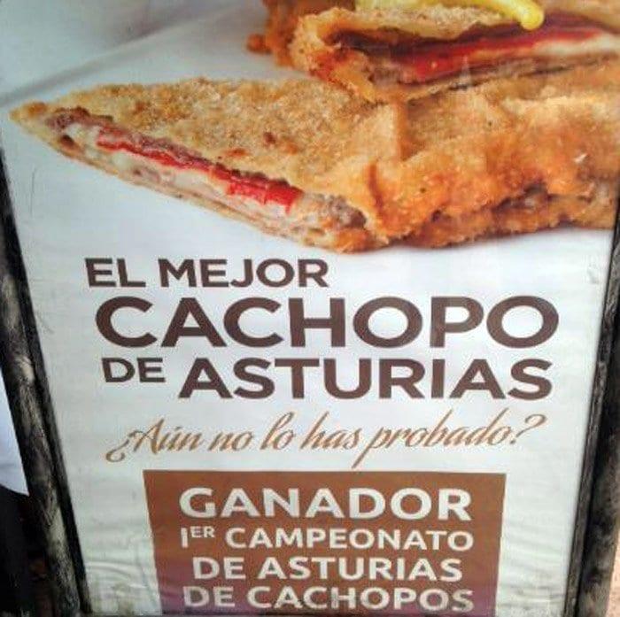 En Asturias son habituales los concursos de cachopos