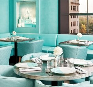 Cafetería de Tiffanys en Nueva York