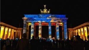 La puerta de Brandenburgo, centro de todas las celebraciones