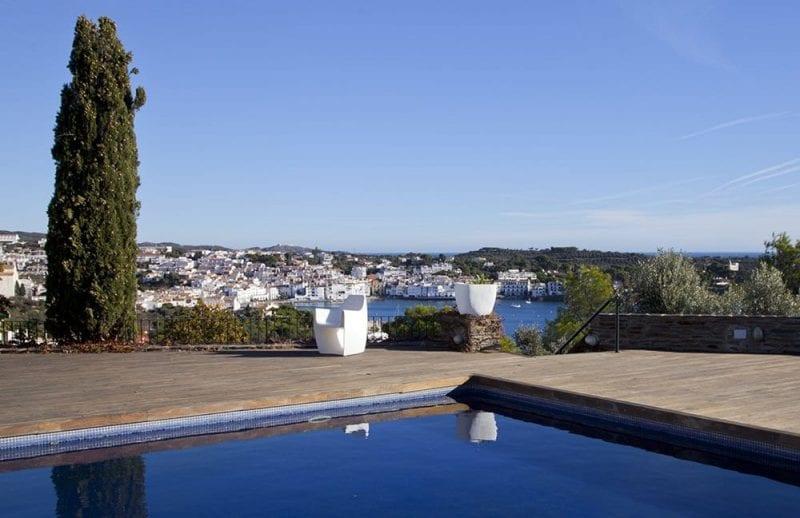 Vistas de Cadaqués desde el hotel Rec de Palau