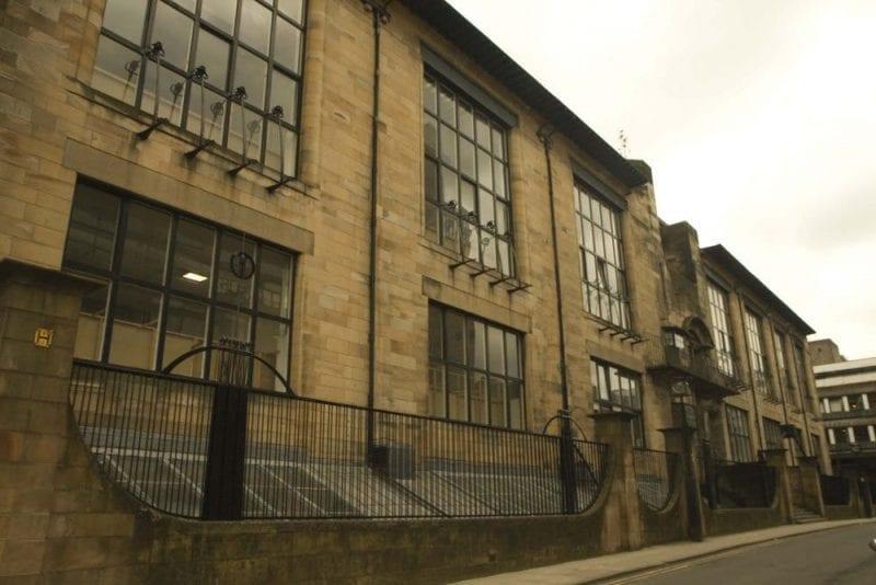 La Escuela de Bellas Artes, obra maestra de Mackintosh