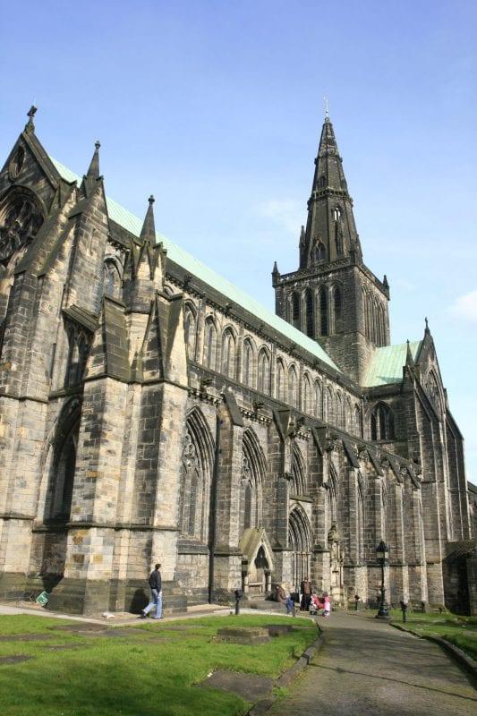 Fachada de la catedral de Glasgow