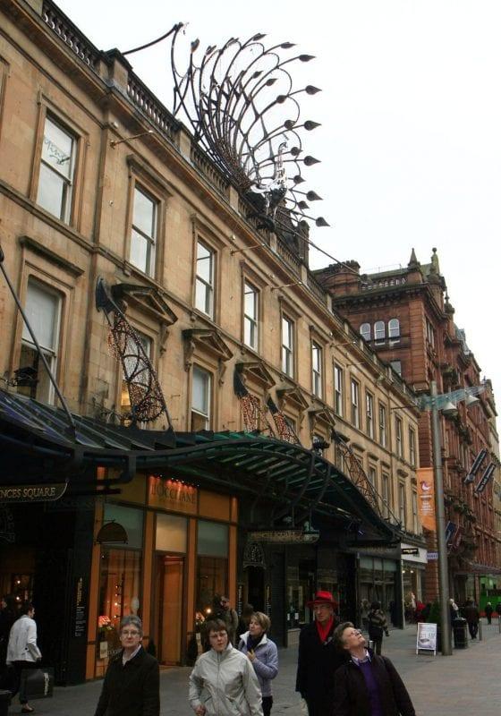 Glasgow tiene muchos edificios art nouveau
