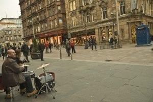 Glasgow calle centro