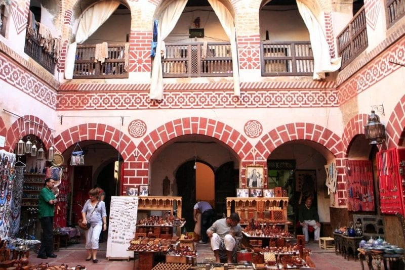 La Medina de Marrakech es un caótico pero bello laberinto