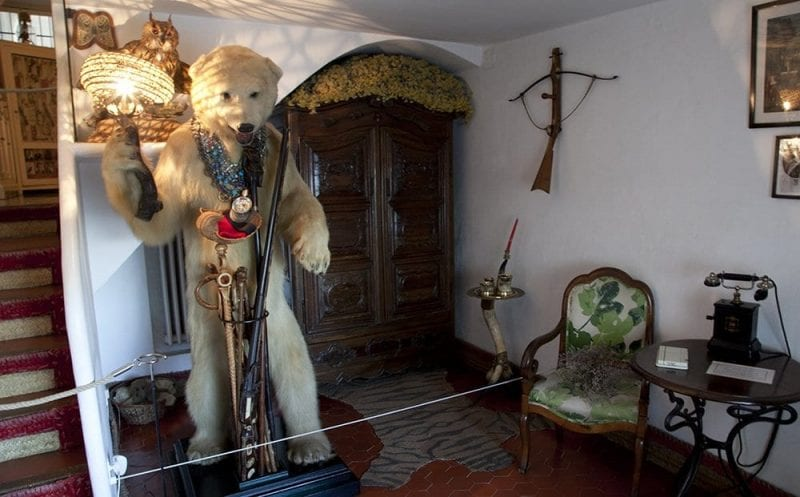 Entrada a la casa Dalí de Portlligat