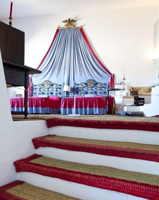 Habitación de Dalí en Portlligat