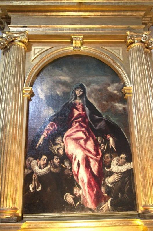 Cuadro de la Virgen de la Caridad