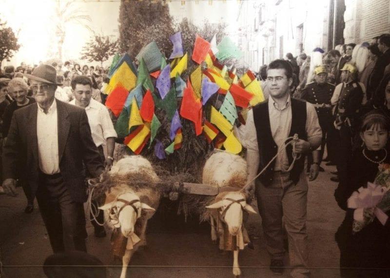 El carrito de Mondas, un clásico en la fiesta de Talavera