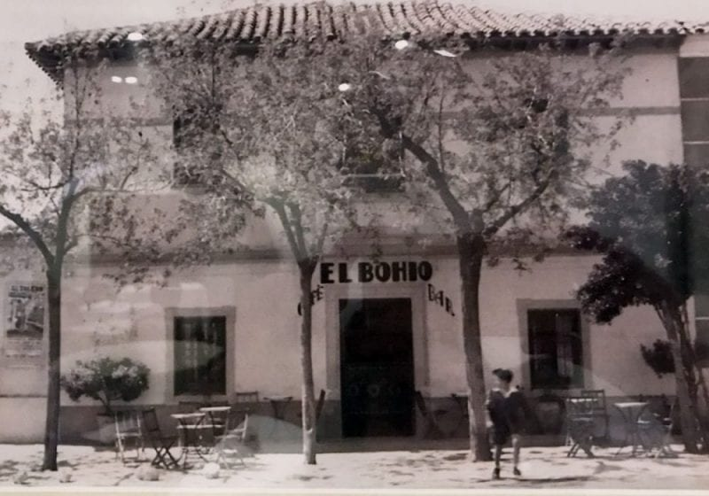 Foto antigua del Bohío