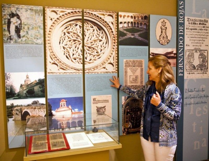 Detalle de la exposición permanente del museo de La Celestina