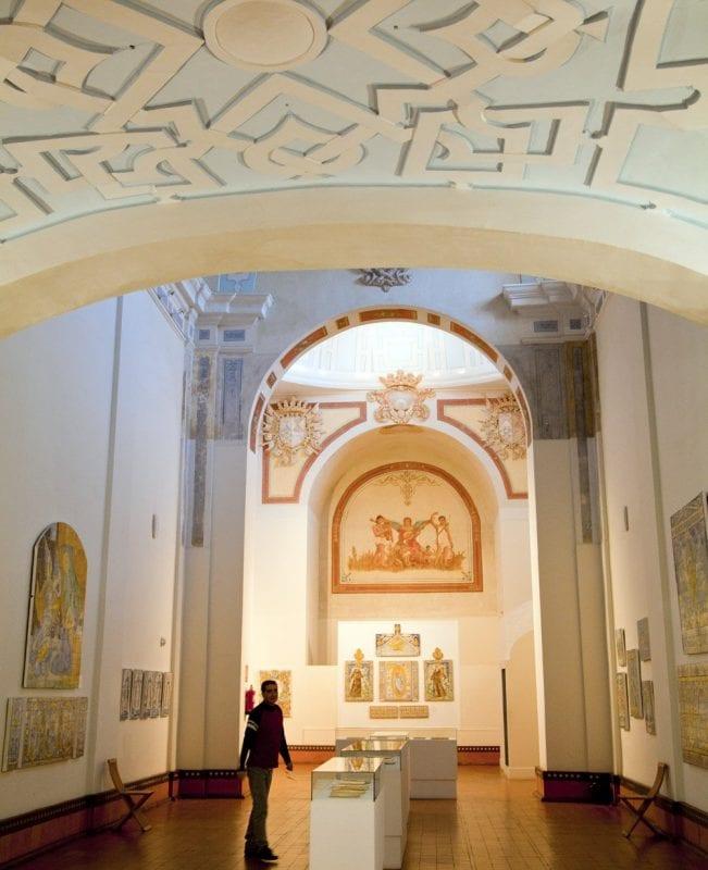 Sala del interior del museo Juan Ruis de Luna