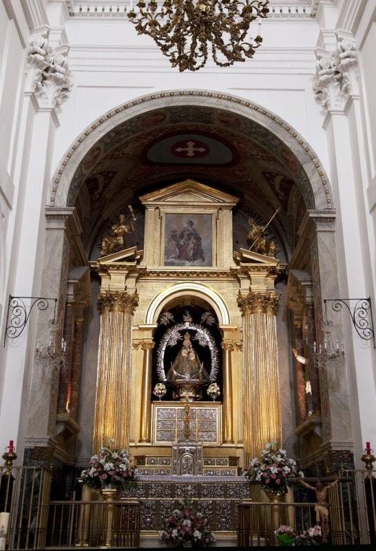 Retablo del Santuario de la Virgen de la Caridad en Illescas, Toledo