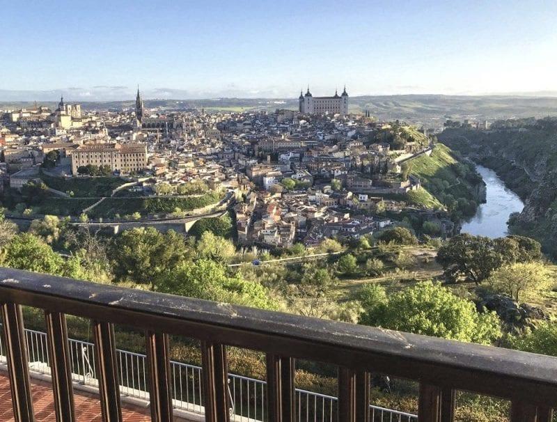 Panorámica de Toledo desde el Parador