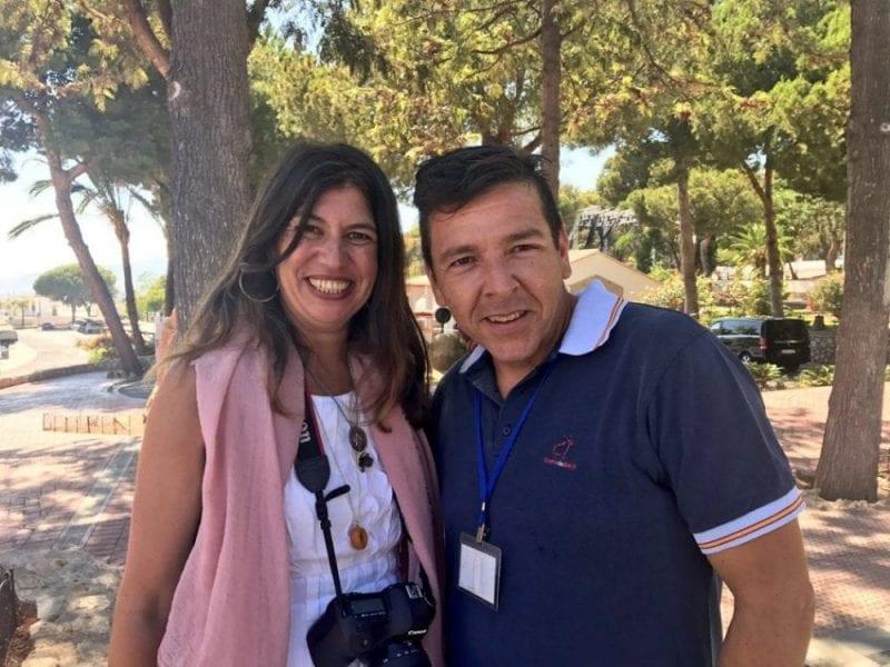 Foto con Tito de Verano Azul