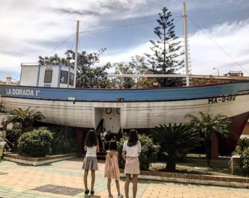 La Dorada, nombre del famoso barco de Chanquete