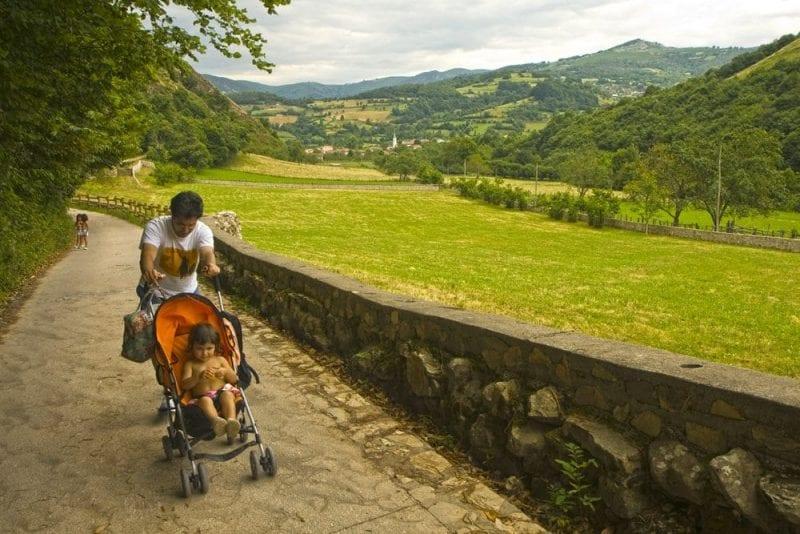 Ruta Asturias senderismo