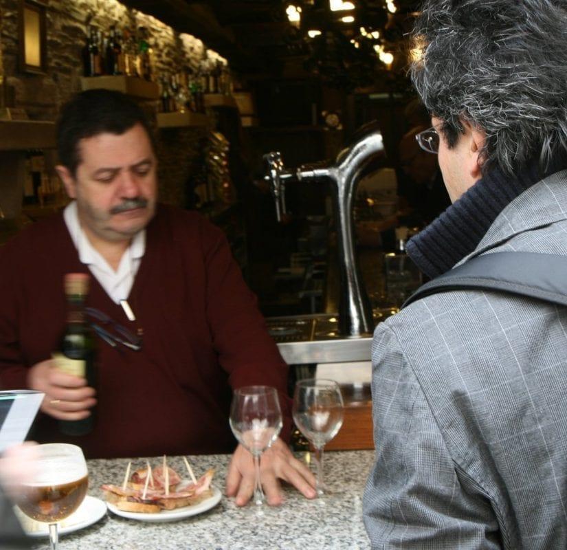 Un vino gallego, el mejor compañero de mesa