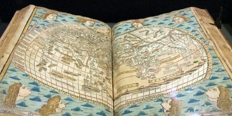 Atlas impreso en la imprenta de Plantino