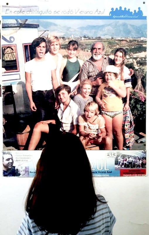 Cartel de la serie verano azul