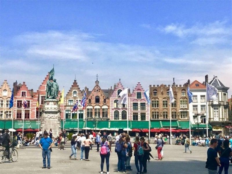 Brujas es una de las ciudades más bellas de Flandes