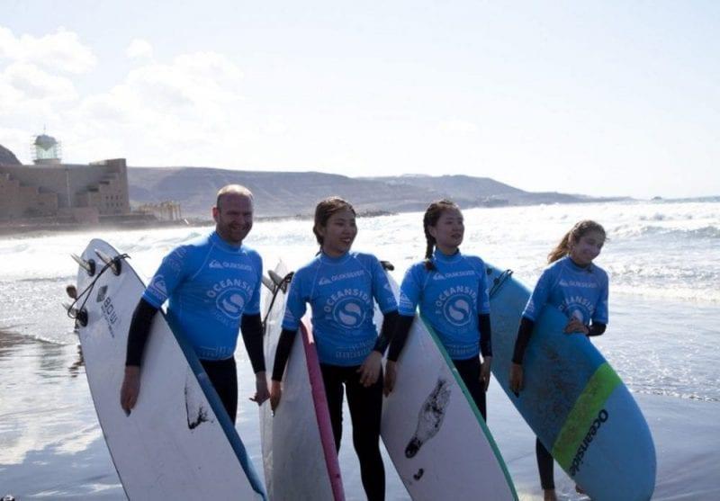 Le escuela de surf Ocean Side organiza cursos, viajes, campamentos...