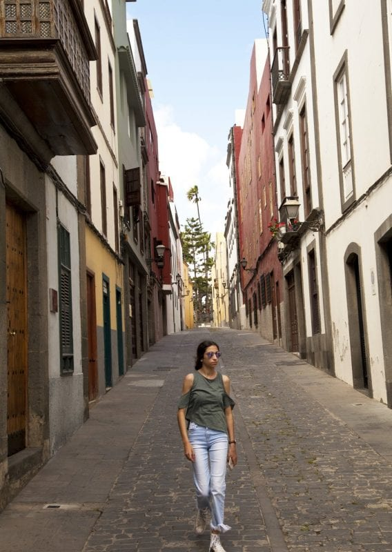 Vegueta es un barrio colonial