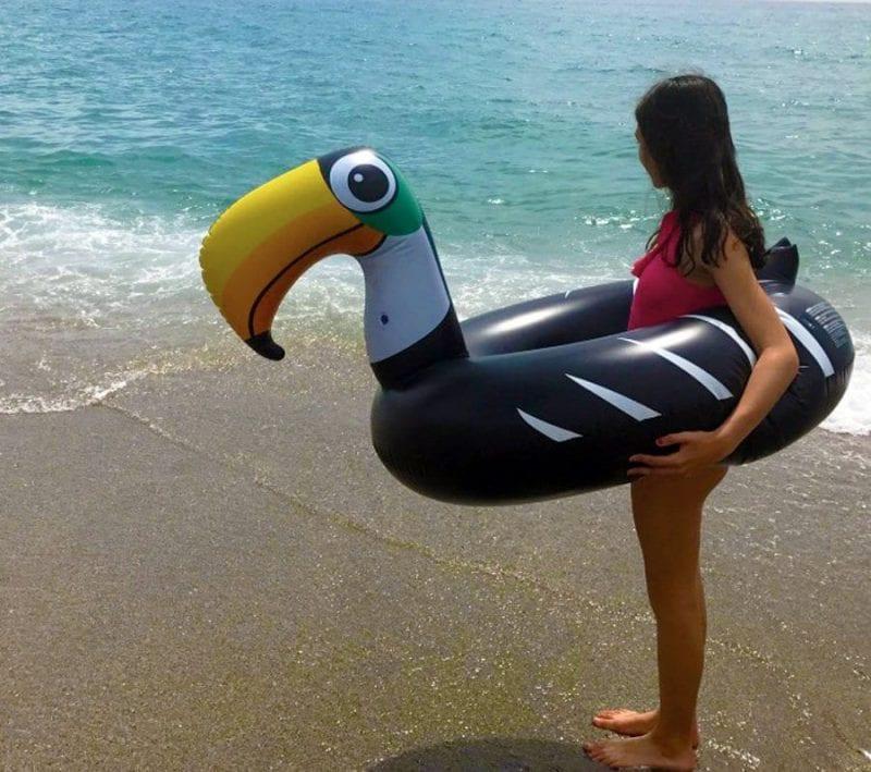 Disfrutar de la playa es un buen plan para familias
