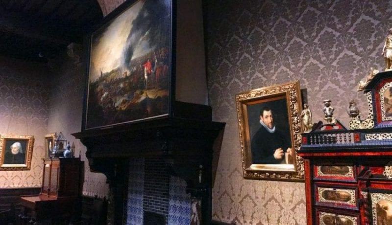 Retrato de Cristóbal Plantino pintado por Rubens