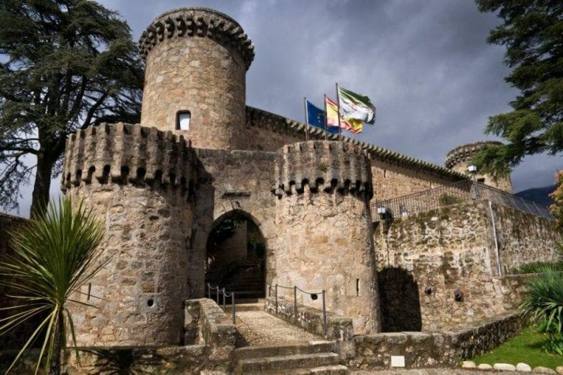 El castillo de Jarandilla de la Vera