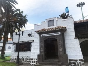 La casa del Turismo está en el Parque de Santa Catalina