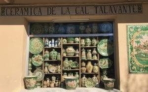 Tienda de cerámica de Puente del Arzobispo