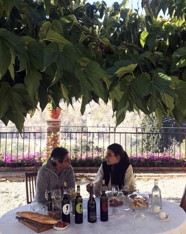 Desayuno entre viñedos en Bouquet dÁlella
