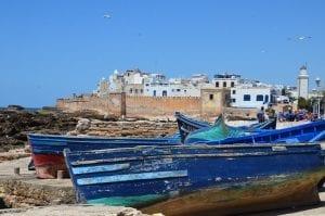 Essaouira está a 170 kilómetros de Marrakech