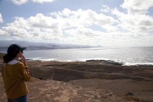 la playa del Confital está en la Isleta
