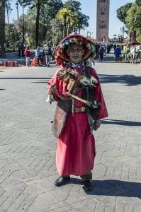 Marrakech está lleno de personajes curiosos