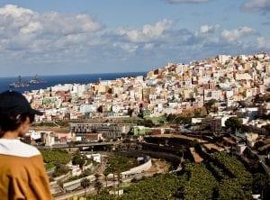 Panoramica del risco de San Juan