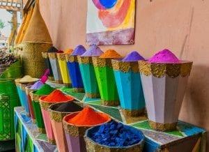 El colorido de la Medina es una maravilla