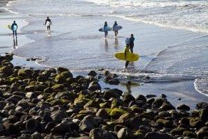Las Palmas, destino top para surferos de todo el mundo