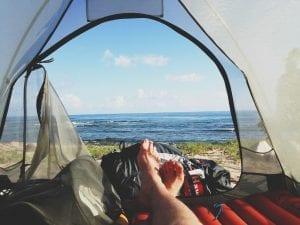 El camping permite un contacto directo con la naturaleza