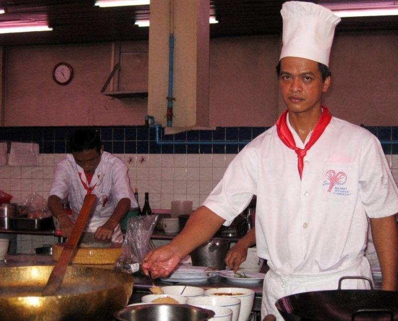 En Tailandia hay muchos chefs reputados