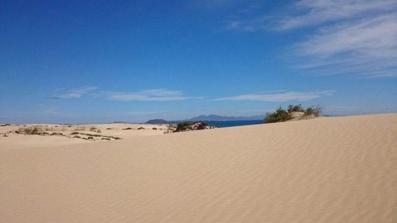 Las dunas de Corralejo son famosas