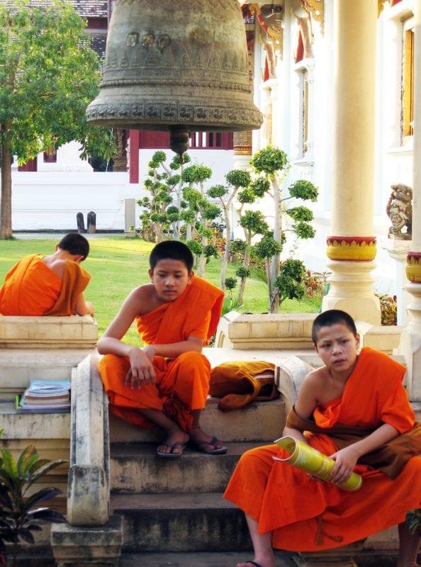 En Tailandia hay muchos monjes