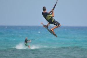 Fuerteventura es un paraíso para amantes de os deportes náuticos