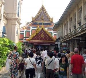 El Wat Pho siempre está lleno de gente
