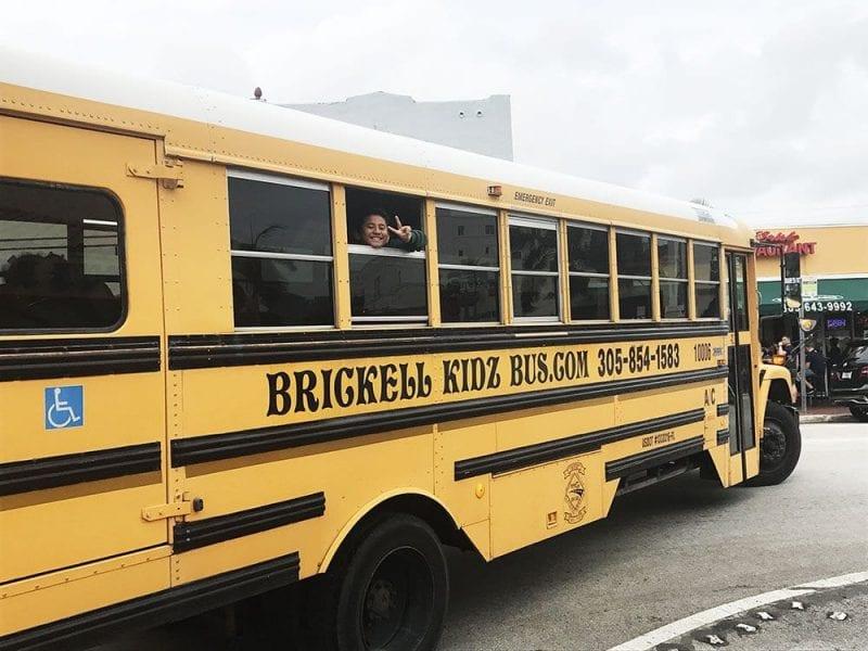 Autobús escolar en Miami