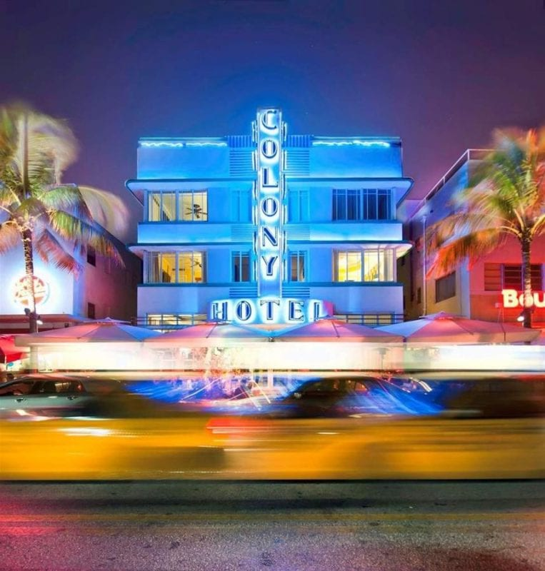 El hotel Colony, un icono en Miami Beach