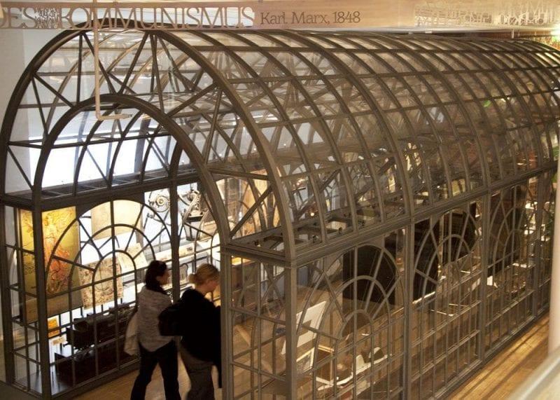 La casa de la Historia Europea tiene seis plantas de exposición